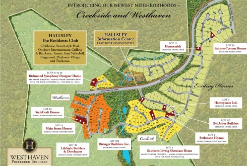 Hallsley Community Map Download
