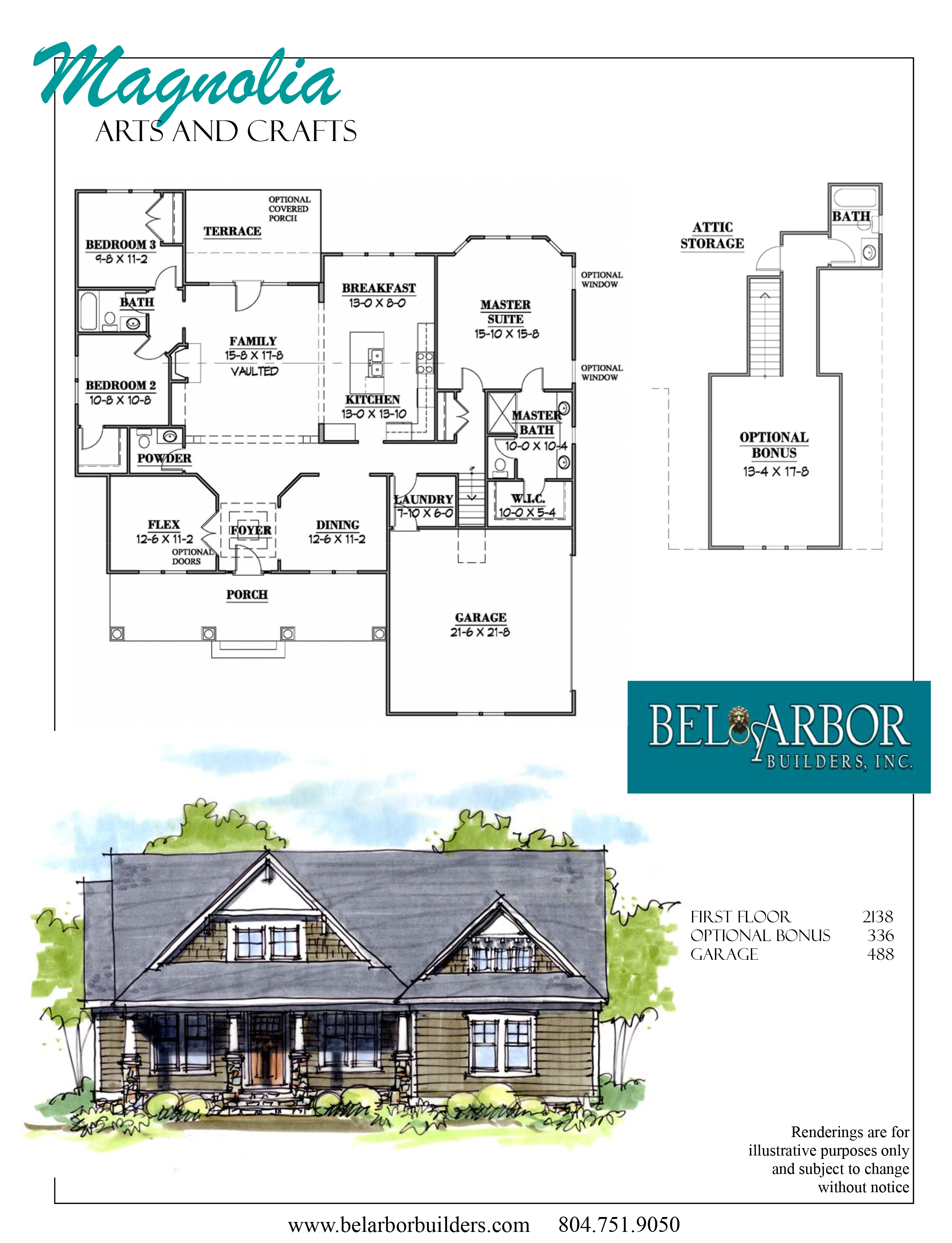 Magnolia By Bel Arbor Builders Hallsley Richmond Virginia